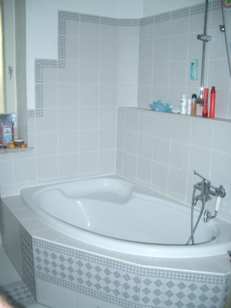 bad nachträglich einbauen? (holzdecken), Badezimmer